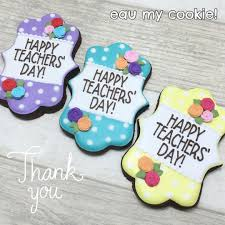 day cookies appreciation cookies teachers day cookies golf widow