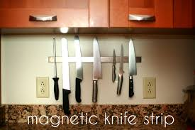 magnetic strips for kitchen knives i do random things diy magnetic knife strip ikea hack no holes