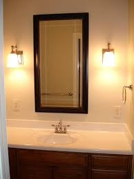 Vanity Lighting With Plug Bathroom Lighting With Outlet Interior - Bathroom vanity light with outlet
