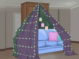 How To Build A Tent by 3 Ways To Build A Love Fort Wikihow