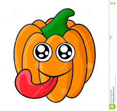 halloween background eyes halloween pumpkin face with eyes and tongue vector symbol icon