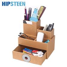 Dstockage Papeterie Hipsteen Papier Boîte De Stockage De Papeterie Bureau étude De