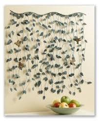 wall art designs hanging wall art leaf curving swirls metal