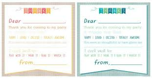 Thank You Note After Dinner Party - printable thank you note 7 best images of printable thank you