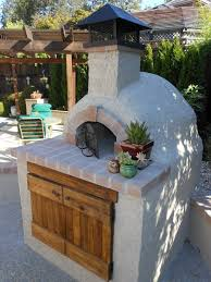 Brick Oven Backyard by 158 Best Brick Pizza Ovens Images On Pinterest Outdoor Cooking