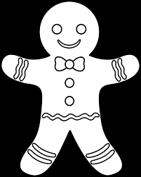 christmas gingerbread man coloring page awesome collection of