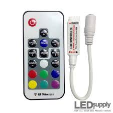 remote control led strip lights rgb remote control rf dimmer for led strips