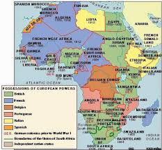 africa map before colonization imperialism and colonisation scramble for africa history and
