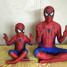 Boys Spider Halloween Costume Boys Men U0027s Spiderman Costume Clothes Halloween Cosplay Spider