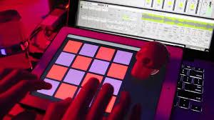 ipad midi controller touchosc ableton aaliyah drum machine
