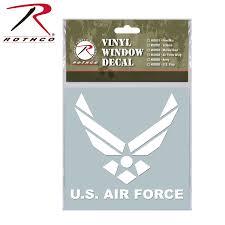 Flag Car Decals Rothco Military Vinyl Window Decal