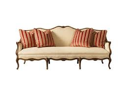 Henredon Leather Sofa Decor Rolled Arm Tufted Leather Henredon Sofa With Nailhead For