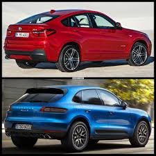 porsche macan red interior test drive 2015 bmw x4 vs 2015 porsche macan