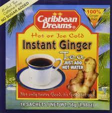 amazon com caribbean dreams ginger tea 24 tea bags 1 34oz