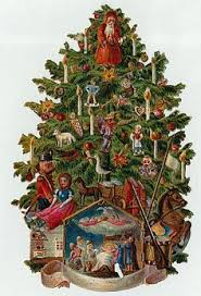 Antique Victorian Christmas Ornaments - victorian christmas trees a victorian familys holiday traditions