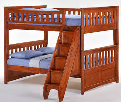 Eastwood Full Over Full Stairway Bunk Beds - Full over full bunk bed