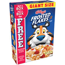 kellogg u0027s frosted flakes cereal 33 oz box walmart com