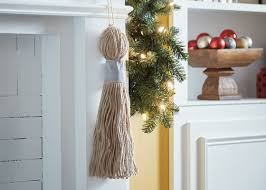 Christmas Decoration Storage Containers Home Depot by How To Make A Tassel For Christmas Decorating Garden Club