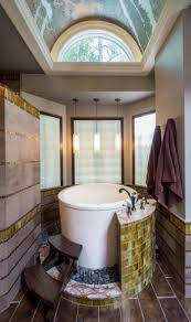 Japanese Shower by Small Bathroom With Modern Fixtures Including Walk In Shower And