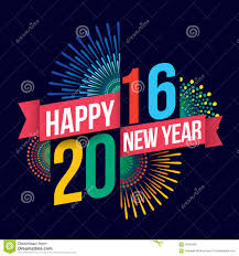 happy new year 2016 stock vector image 56919083