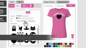 how to design your own custom t shirt online customized