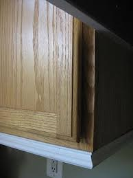 Best  Kitchen Cabinet Molding Ideas On Pinterest Updating - Kitchen cabinet trim