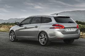 peugeot estate cars peugeot 308 sw contemporary and spacious estate drive co uk