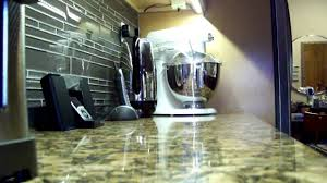 homemade kitchen undercabinet smd led lighting youtube