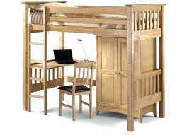 Double Size Loft Bed With Desk Wardrobes Loft Bed With Wardrobe And Futon Bedsitter Loft Bed