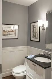 half bath wainscoting ideas pictures remodel and decor color case study shades of gray evolution powder room and gray