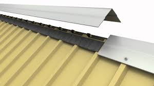 Types Of Roof Vents Pictures by Flex O Vent Metal Roofing Ridge Vent Youtube