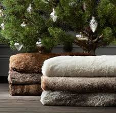 faux fur tree skirt sandi pointe library of collections