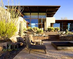 bedroom prepossessing modern desert landscaping ideas design