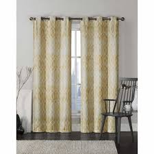 Yellow Grommet Curtain Panels by Yellow Bedroom Curtain Victoria Classics Andreas Grommet Top 96