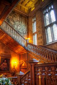 highclere castle staircase made from one piece of oak things i