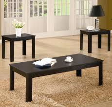 end tables designs three piece occasional end table and coffee