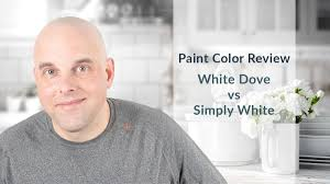 white dove or simply white for kitchen cabinets benjamin white dove vs simply white color review by