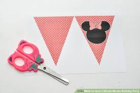 minnie mouse birthday how to host a minnie mouse birthday party 5 steps with pictures