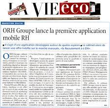 les bureaux de recrutement au maroc presse orh acteur de référence dans le domaine du conseil rh et de