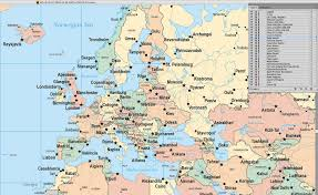 Labeled Map Of Europe by World Map Europe Centered With Us States U0026 Canadian Provinces