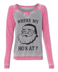 holiday ugly christmas sweater where my ho u0027s at funny womens