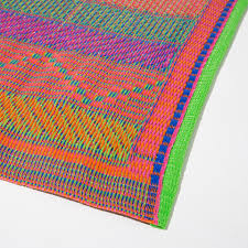 Outdoor Plastic Rugs Multicolored Plastic Rug Indoor And Outdoor Zara Home United