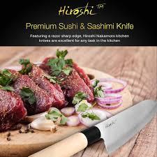 amazon com hiroshi nakamoto 4 piece sushi u0026 sashimi chef knife