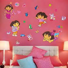Dora The Explorer Bedroom Furniture by Dora The Explorer Room Decor Ebay