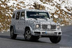mercedes benz g class redesigned g class will have just 1 exterior part in common with