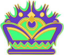 mardi gras crown mardi gras crown graphic in clip clipartix