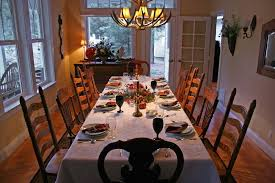 thanksgiving dinner tables thanksgiving table settings