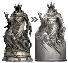 God Statue Cake Mix Guild Wars 2 God Statue Concepts