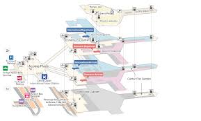 layout denah cafe airport floor map services and facilities chubu centrair