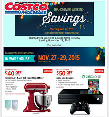 costco s black friday 2015 ad leaked everything you need to